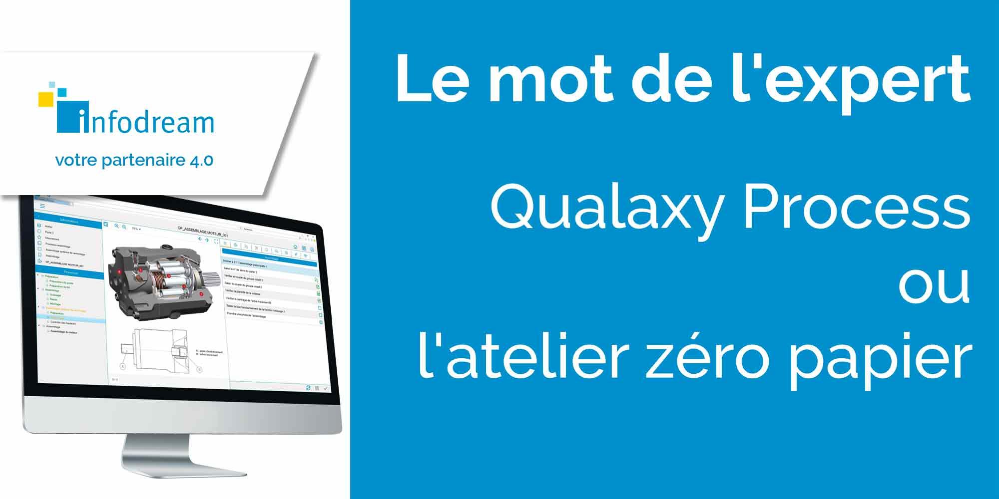 Qualaxy Process, Ou L'Atelier Zéro Papier !