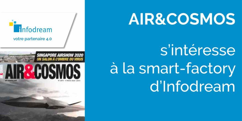 Air&Cosmos s'intéresse à la smart-factory d'Infodream