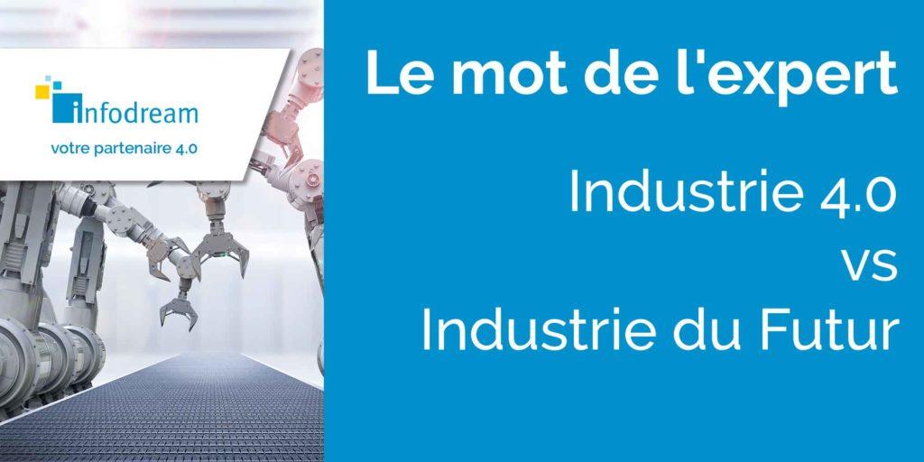 Industrie du futur vs industrie 4.0