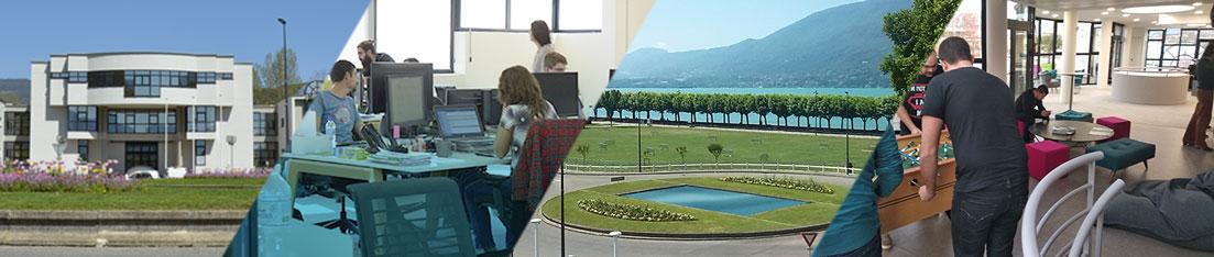 La webcam de la Société Infodream offre une vue unique sur le Lac du Bourget.