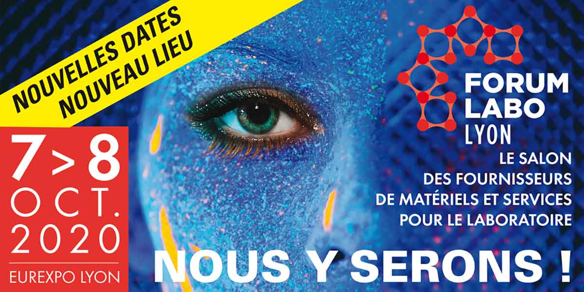 Salon Forum Labo. 7 Et 8 Octobre 2020. Lyon.