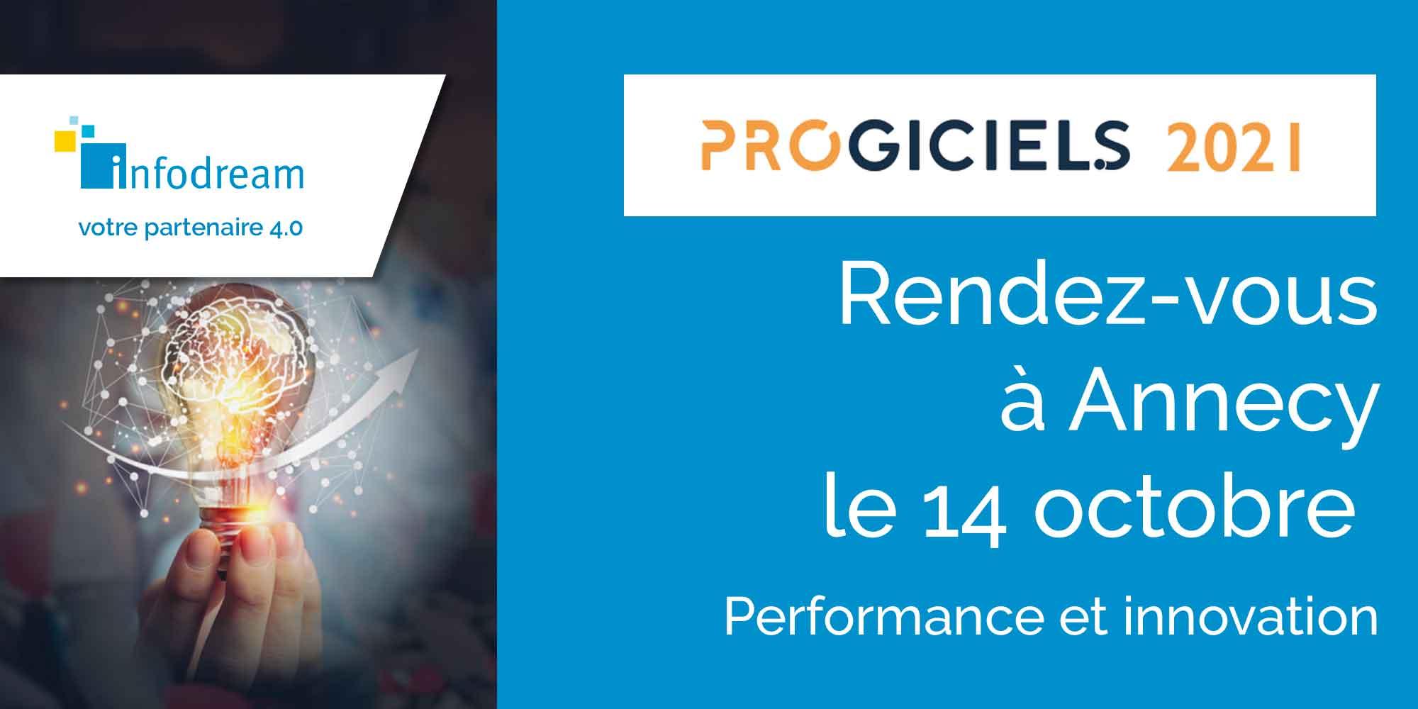Infodream Sur Le Salon Progiciels, Le Salon Des Logiciels Pour La Performance Et L'innovation Industrielle