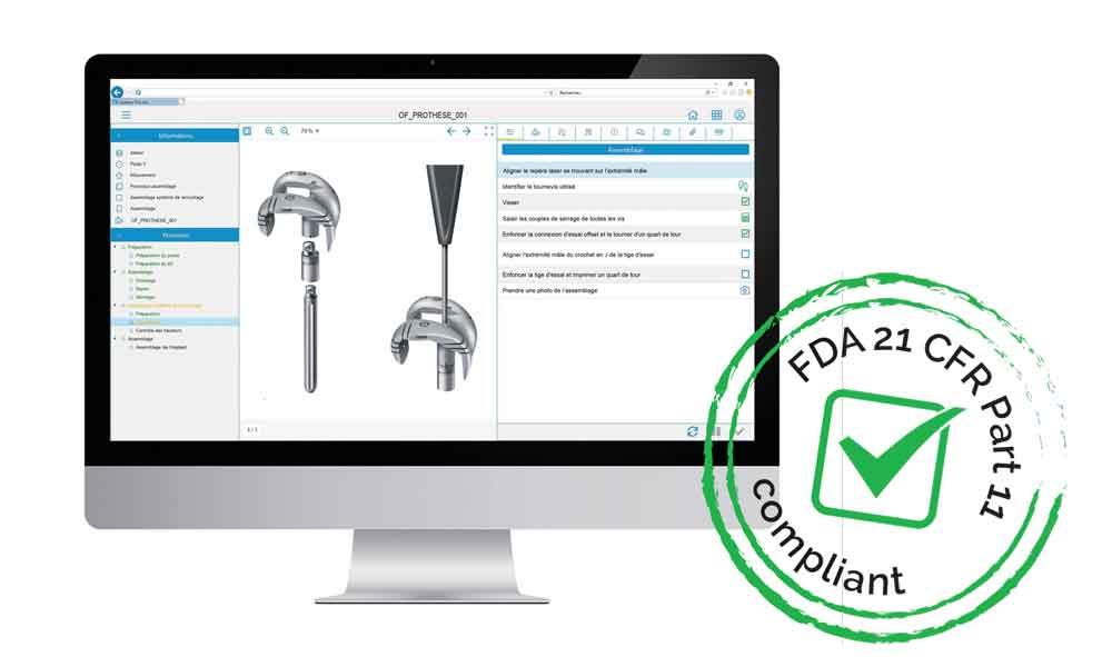 La Suite Qualaxy est FDA 21 CFR Part 11 compliant