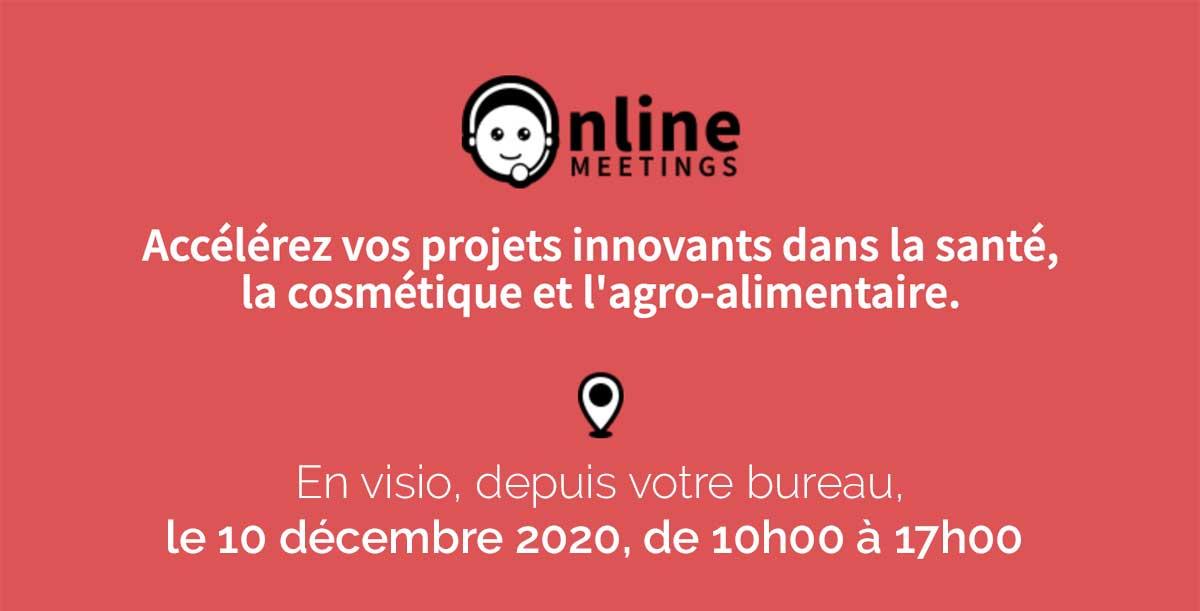 Online Meetings. 10 Décembre 2020.