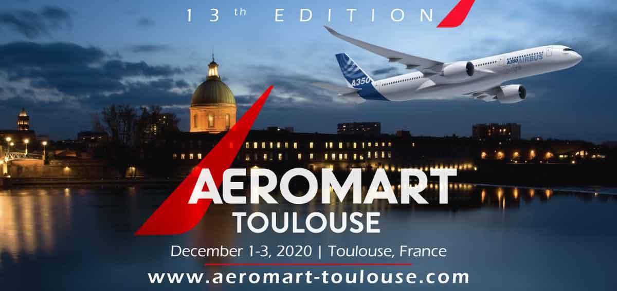 Salon Aeromart. 1-3 Décembre 2020. Toulouse.