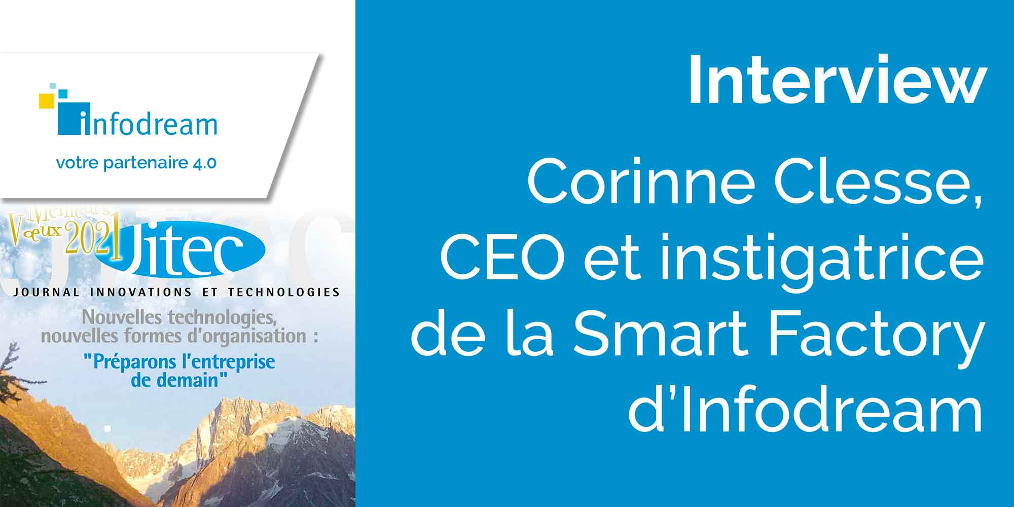 Interview De Corinne Clesse, CEO D'Infodream